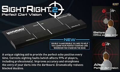 Winmau - SightRight 2 Sight Right Perfect Dart Vision Training Aid