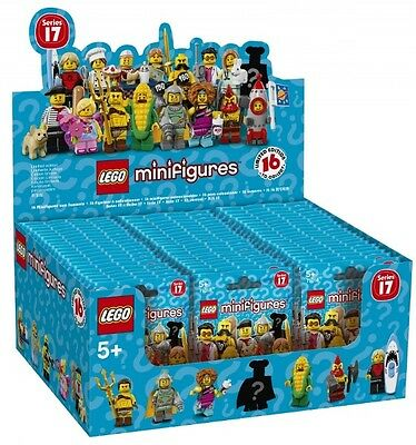 LEGO minifigures Series 17 Factory Sealed Box 60 Packets - New - 71018