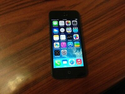 Apple iPhone 5 16GB - Black (Bell Mobility) Good Condition Smartphone