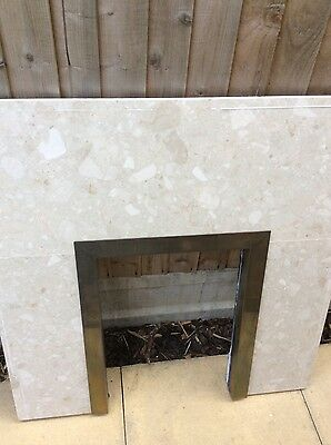 Marble Fire Back Panel