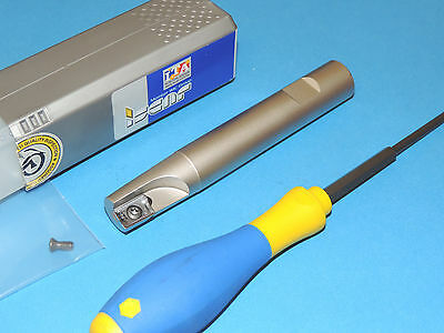 """ISCAR .750"""" HELI2000 Extra Long Indexable End Mill (HM90 E90AD-D.75-1-W.75-XL)"""
