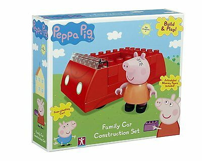 Peppa Pig Family Car Construction Set brand new and sealed