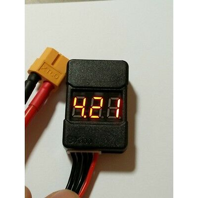 2s - 6s  Low Voltage Alarm Buzzer and Cell Checker