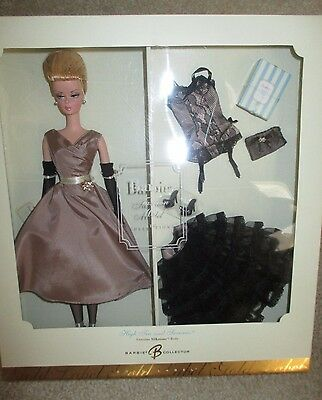 HIGH TEA AND SAVORIES Silkstone Barbie Doll NRFB MIB Giftset