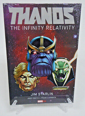Thanos The Infinity Relativity Guardians Marvel Comics HC Hard Cover New Sealed