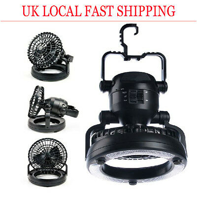 18 LED Camping Lantern Hanging Hiking Tent Light Super Bright Fishing Torches UK