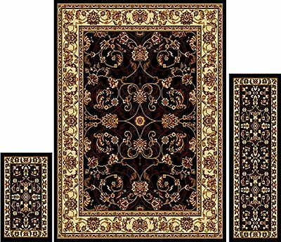 Home Dynamix Area Rugs   Ariana Collection 3 Piece Living Room Rug Set    Ultra