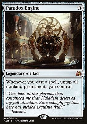 MTG - Paradox Engine - Aether Revolt - Mint - [FREE p&p]
