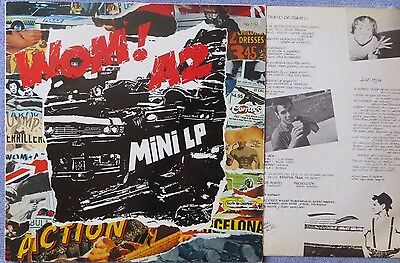 Wom! A2: Mini L.p (Spanish L.p.) 1986  Loquillo (Incluye Insert)