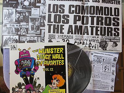 The Munster Dance Hall..vol.ii (L.p.)Bombarderos-Los Del Tonos-Bichos-La Burla