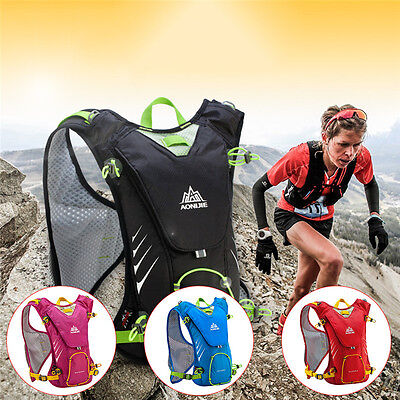 8L Travel  Sports Running Cycling Hydration Backpack Outdoor Vest Bladder Bag