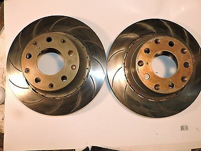 "Brembo front brake rotors and hats 1 3/8"" thick 09.9227.51/61 Nascar Late model"