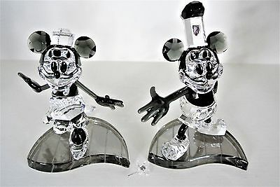 Swarovski Crystal Figurine - Disney - Mickey & Minnie Steamboat Willie - 1142826