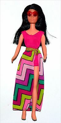 Vintage Topper Dawn Clone Rockflowers Doll with Fashion Clothing! Lot #14