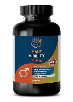 Male Enlargement - MALE VERILITYSeaxual Booster with Niacin,Maca 1 Bottle