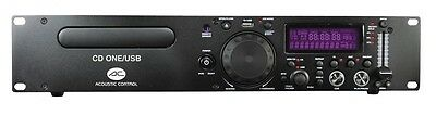 Acoustic Control Cd One/Usb Reproductor Cd/Mp3/Usb