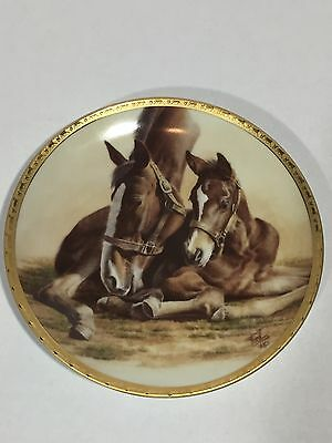 """FRED STONE Collectible Plate """"Contentment"""" #15721"""