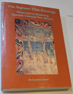 1991 REVISED EDITION Segesser Hide Paintings,Spanish Colinial New Mexico Book