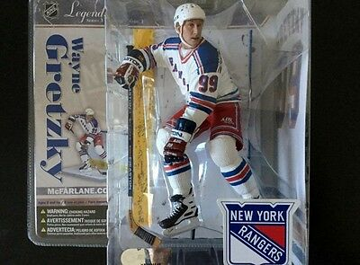 Wayne Gretzky Mcfarlane NHL Legends 3 New York Rangers figure statue figurine