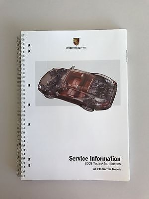 Porsche 911 997 Service Information 2009 Technical Manual book 997.2