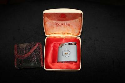 Vintage Ronson Flint Lighter, Good Condition With Box.