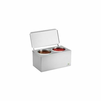 Server Products 92020 S/S Double Cone Heated Dip Warmer