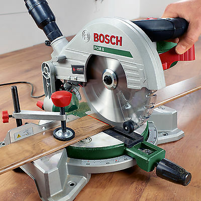 -new- Bosch PCM 8 Manual MITRE SAW Cutter 0603B10070 3165140805292 *