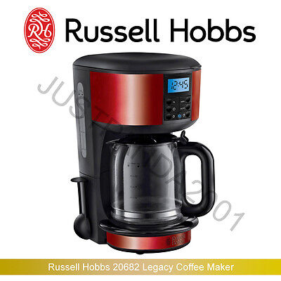 Russell Hobbs 20682 Legacy Coffee Maker, 1.25 L - Red