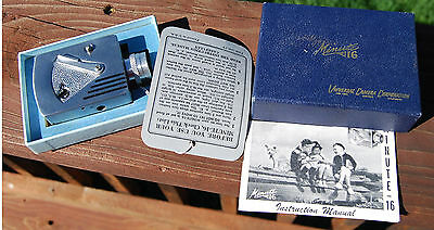 Universal Camera UCC Minute 16 Subminiature Camera & Original Box & Papers NICE