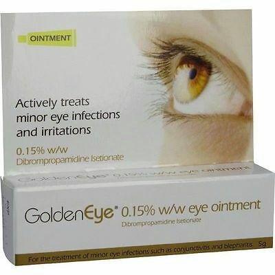 Golden Eye 0.15% Eye Ointment-5g Conjunctivitis & Blepharitis Eye Infections NEW