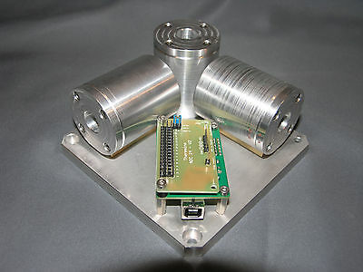 Meccanica Blocco 3D Geofoni Theremino, ADC, Geophones, Seismograph.