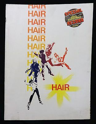 """""""HAIR"""" goes from Broadway to Screen, Soundtrack Record Inside - Movie Program"""