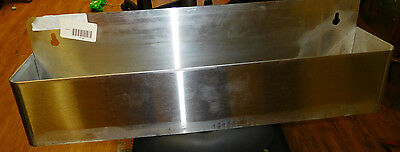 """Single Tier Commercial 22"""" Stainless Steel Speed Rail Rack New For Bottles & Mix"""