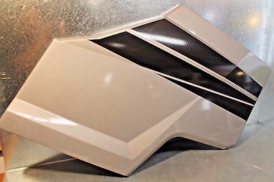 2017 Polaris General Left hand 5452984 Rear Door panel Outer Silver / Black OEM