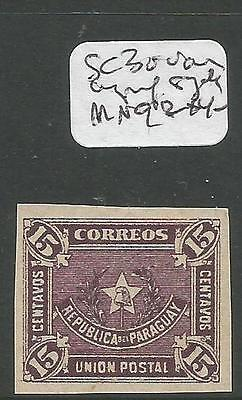 Paraguay SC 30 Imperf Single MNG (8cwx)