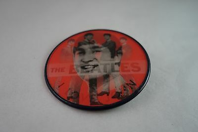 "Vintage Vari-Vue - 2 1/2"" ""i Love John"" Beatles Flasher Button -Pin Back"