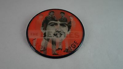 "Vintage Vari-Vue - 2 1/2"" ""i Love George"" Beatles Flasher Button -Pin Back"