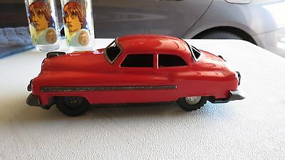Vintage Tin Friction Cadillac Toy Made In Japan