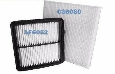 COMBO AIR FILTER & CABIN AIR FILTER SET for 2009 2011 2012 2013 2014 HONDA FIT