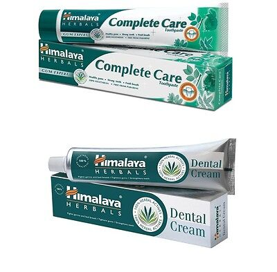 Himalaya Herbal Toothpaste Dental Cream Organique Compleate Care Paraben FREE