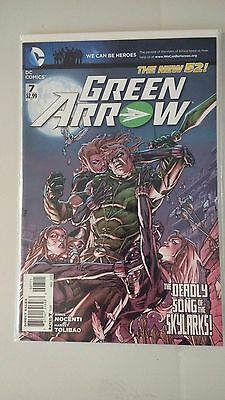 Green Arrow Issue 7 New 52