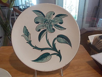 """STANGL """"Prelude"""" Dinner Plate - Large Flower w/No Trim"""
