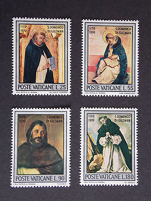 1971 St Dominicus of Guzman MNH Stamps from Vatican