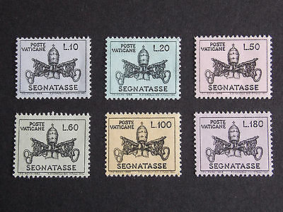 1968 Postage Due MNH Stamps from Vatican