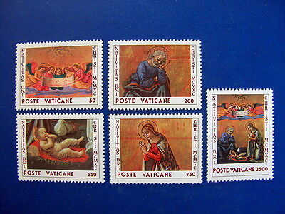 1990 Christmas MNH Stamps from Vatican