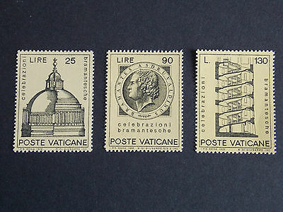 1972 Bramante MNH Stamps from Vatican