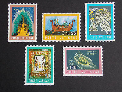1974 Bible Children Drawing MNH Stamps from Vatican