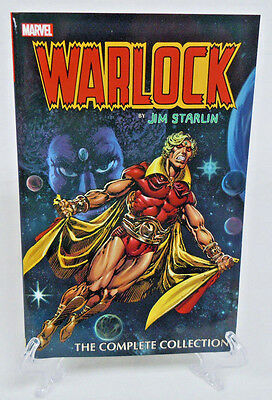Warlock by Jim Starlin Complete Collection Marvel Comics TPB Trade Paperback New