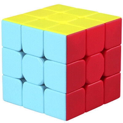 QIYI Warrior W 3x3x3 Speed Cube Puzzle Twsity Game Bright Stickerless Kids Toys