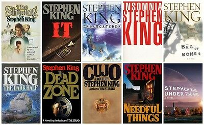 68 Audiobooks - The Stephen King Majority Novels collection 1975-2012 Mp3 Dvd qp